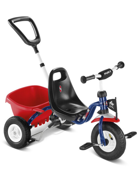 Puky CAT 1 L - Tricycle Enfant - rouge/bleu